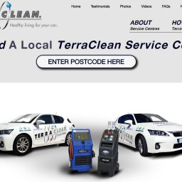 TerraClean Website