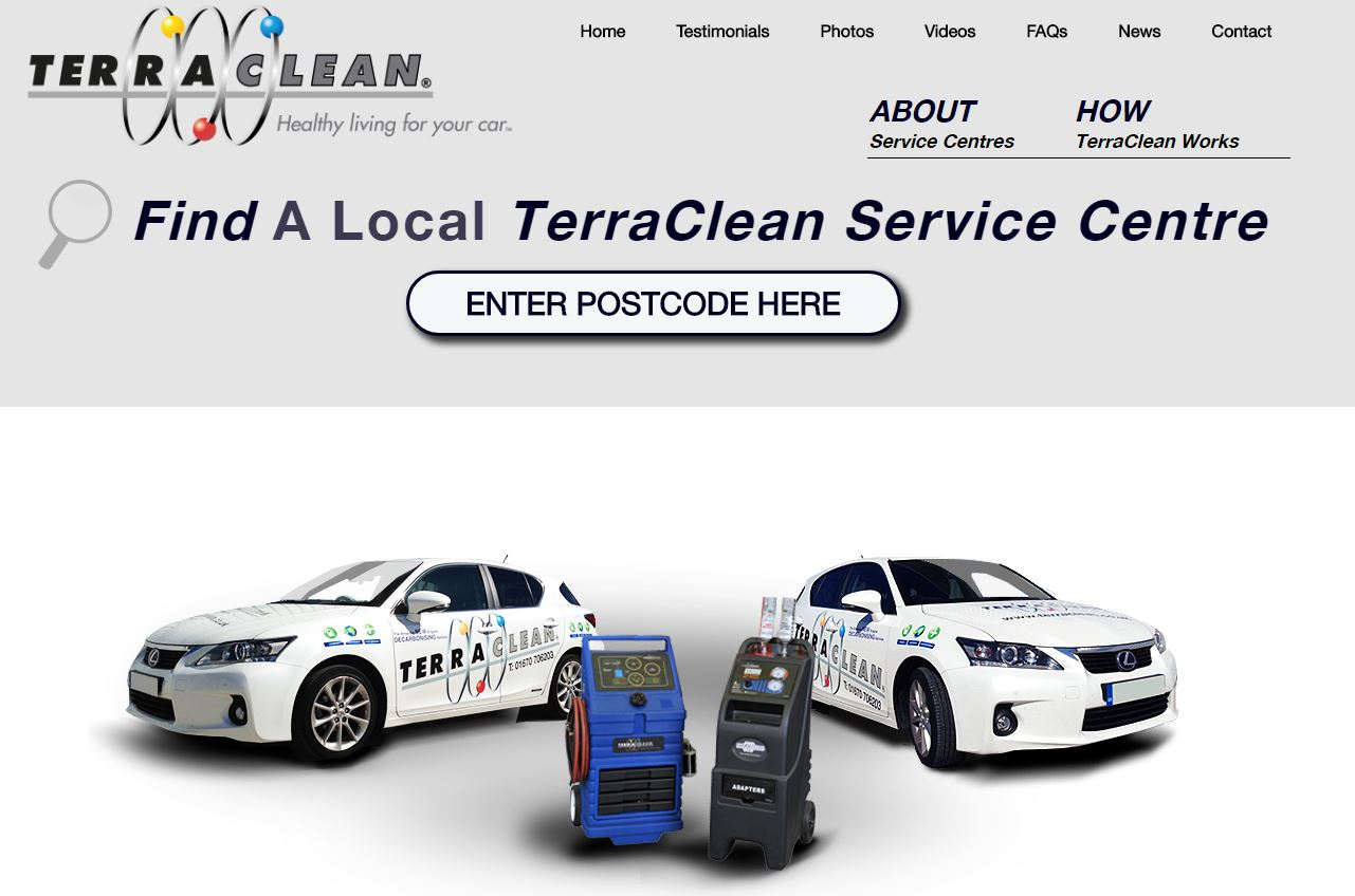 Welcome to the new TerraClean website