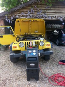Vehicle - You can TerraClean a Jeep
