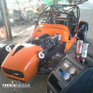 Use TerraClean to extend the life of your vehicle left in storage