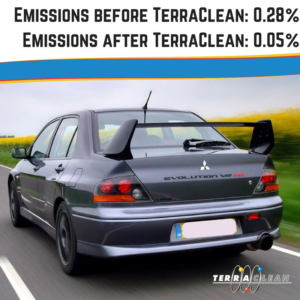 Emission reduction after TerraClean