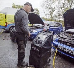 terraclean service centre technician