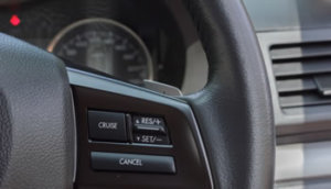 Cruise control - fuel consumption